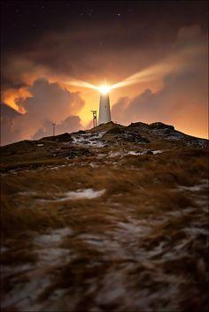 Reykjanesviti by Gunnar Gestur
