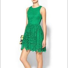 Pim & Larkin green lace mini dress Brand new with tags.  Purchased last summer from Piperlime.  Perfect condition Pim & Larkin Dresses Mini