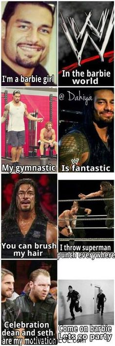 I love you Roman, lmao, but this is too funny not to pin.