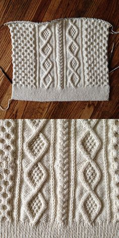 FREE KNITTING HOW TO......A different way to shape a sweater