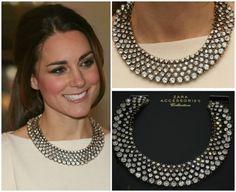 Duchess Catherine's necklace from Zara
