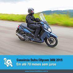 Acaba de chegar ao mercado a linha 2015 do Dafra Citycom 300i. Acesse nossa matéria e saiba mais sobre o scooter: https://www.consorciodemotos.com.br/noticias/dafra-citycom-300i-2015-em-ate-70-meses-sem-juros?idcampanha=288&utm_source=Pinterest&utm_medium=Perfil&utm_campaign=redessociais