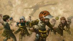 STAR WARS Art From Craig Davison Will Take You Right Back To Childhood