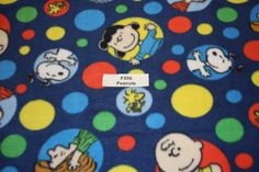Peanuts Fleece Snoopy Charlie Brown Lucy Linus Fabric Dog blanket Fleece Fabric Store low price fleece free shipping available F556 by FabricPremier on Etsy