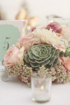Succulent Table Center Pieces