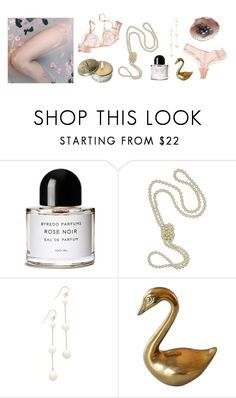 """""""Poetry in petals"""" by tasteofbliss ❤ liked on Polyvore featuring Byredo, Majorica, Chan Luu and CO"""