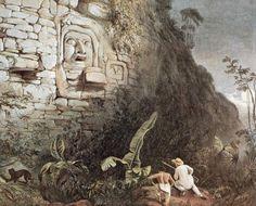 Itzamna é um patriarca benigno, frequentemente ilustrado como um homem velho com olhos quadrados, um maxilar proeminente e um nariz com o bico de um falcão. As cerimônias do Novo Ano maia eram em honra de Itzamna, tal como o Templo da Cruz. localizado em Palenque.