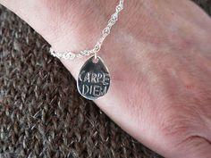 Bracelets : Bracelet Argent Carpe diem Yuna