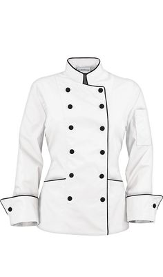 Stylish Women's Chef Coats from Chef Uniforms - GIVEAWAY