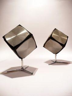 Grundig Cube Speakers methuselahpalooza