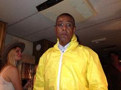 'Gus is cooking tonight' - Giancarlo Esposito at the Breaking Bad finale party.