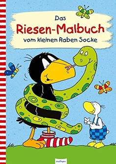 Der kleine Rabe Socke: Das Riesen-Malbuch vom kleinen Raben Socke #Socke, #Das, #Rabe, #Der Handmade Gifts For Friends, Film Books, Book Recommendations, Handmade Crafts, Disney Characters, Fictional Characters, Christian, Comics, Creative