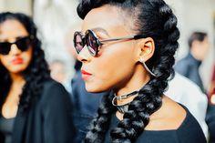 20 formas de recoger el cabello rizado © Cordon Press/Getty Images