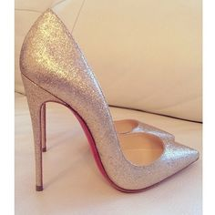 glitter louboutins. #shoeporn