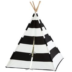 the land of nod | striped teepee