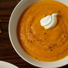 Ginger, sweet potato carrot soup and other recipes with sweet potatoes 10 Healthy Sweet Potato Recipes | Women's Health Magazine
