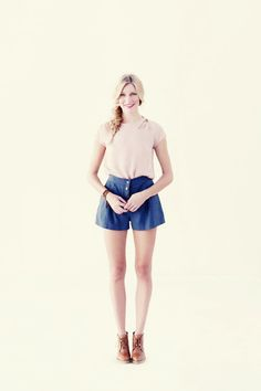 love these culotte style shorts!  #summer #fashion