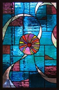 Abstract Stained Glass | Adducci Stained Glass Abstract Design