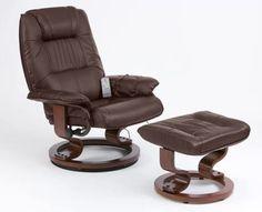 UK U0026 Ireland): Home Improvement: Napoli Heat And Massage Recliner Chair  (Brown