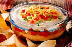 Layered Bean Dip recipe