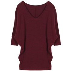 Market & Spruce Aleah V-Neck Solid Dolman Sleeve Shirt ... Love this shirt and the color!