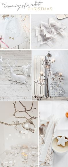 christmas inspiration: white christmas | Tabitha Emma