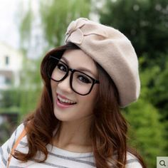 So cute beret hat for women wear in spring autumn and winter