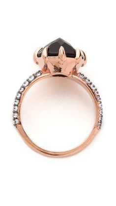 """{ Katie Rowland """"vengeance"""" ring in rose gold }"""