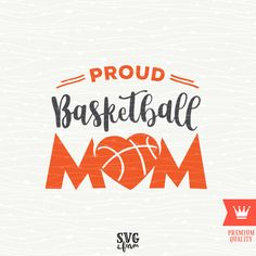 Proud Basketball Mom SVG Decal Cutting File - Basketball Mama Basketball Mother Heart T-Shirt Transfer for Cricut Explore, Silhouette Cameo Basketball Mom Shirts, Basketball Design, Basketball Drills, Baseball Mom, Basketball Crafts, Basketball Shooting, Basketball Legends, Basketball Information, Diy Cutting Board