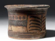 Ancient Indus Valley Mohenjo Daro Pottery Vessel