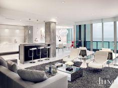 This Miami Beach apartment is a minimalist's dream.