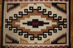 Vintage Navajo Weaving by CulturalPatina on Etsy