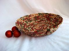 Christmas Centerpiece Basket Handmade Holiday by WexfordTreasures, $24.99