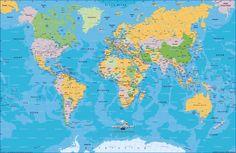 mapa planisferio politico con nombres - ALOjamiento de IMágenes