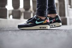 """Nike WMNS Air Max 1 """"Aloha Print"""" Pack limited edition; love my shoes"""
