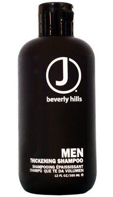 J Beverly Hills Men Thickening Shampoo. Stimulierender Reiniger, der Volumen gibt