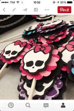 etiquetas Monster High