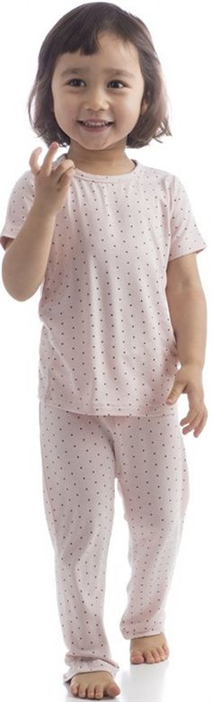 Baby & Toddler Short Sleeve & Pant Set - Organic Bamboo For The Little Ones