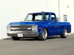 Our friends at Chris Holstrom Concepts- Hot Rod Repair built this gorgeous LSA-powered '69 C10 with Baer Brakes, Toyo tires, and 20 inch Forgeline RB3C wheels finished with Titanium centers and Brushed outers. See more at: http://www.forgeline.com/customer_gallery_view.php?cvk=1312  #Forgeline #RB3C #notjustanotherprettywheel #madeinUSA #Chevy #C10