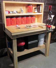 DIY and crafts DIY and crafts. Reloading Bench Plans Shotgun, Rifle and Pistol Ammunition Loading . Reloading Table, Reloading Bench Plans, Reloading Brass, Reloading Room, Reloading Equipment, Diy Workbench, Woodworking Bench, Assembly Table, Barn Wood Projects