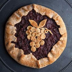 Cooks in the Alpine village of Oulx flavor this gorgeous tart with red wine and cinnamon to honor the town's patron saint, Sant'Antonio.