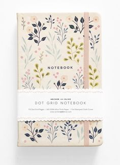 Dot Grid Notebooks from Archer & Olive