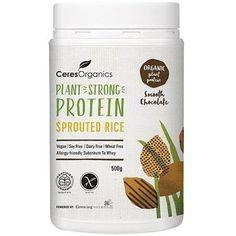 Ceres Organics Bio Sprouted Rice Protein Smooth Chocolate 500g - http://www.veggiemeals.com.au/shop/sport-fitness/ceres-organics-bio-sprouted-rice-protein-smooth-chocolate-500g/ #500G, #Bio, #Ceres, #Chocolate, #Health, #Organics, #Products, #Protein, #Rice, #Smooth, #SportFitnessGtProteinPowders, #Sprouted #veggiemeals #vegetarian
