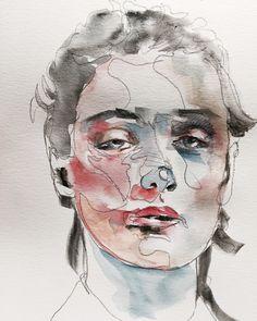 Watercolour, Art, Pen And Wash, Art Background, Watercolor Painting, Kunst, Watercolor, Gcse Art, Watercolor Art