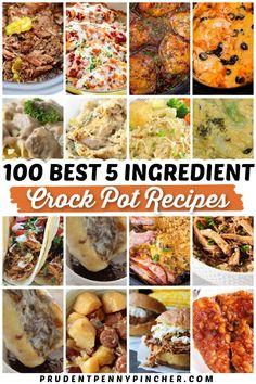 Crockpot Meals, Crock Pot Cooking, Best Crockpot Recipes, Crockpot Dishes, Crock Pot Slow Cooker, Slow Cooker Recipes, Cooking Recipes, Easy Cooking, Recipes With Few Ingredients