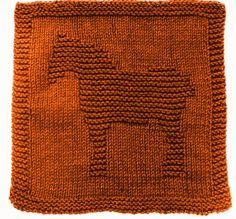 Knitting Cloth Pattern   WORK HORSE   PDF by ezcareknits on Etsy, $3.00