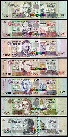 uruguay currency | Uruguay banknotes - Uruguay paper money catalog and Uruguyan currency ...