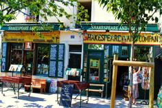 Shakespeare Bookstore, a highlight on any visit to Paris