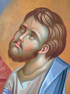 Iconographer Dimitris Maniatis – icoana Byzantine Icons, Byzantine Art, Orthodox Icons, Hair Designs, Vignettes, Fresco, Ikon, Disney Characters, Fictional Characters