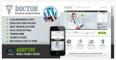 Doctor Universal Medical WordPress Theme